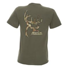 Buck Commander Men's Bark Commander T-shirt for Collin