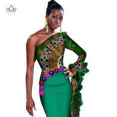 Estimated Delivery ship out between 5 Dresses Length: Knee-LengthSleeve Length(cm): WristPattern Type: PrintColor Style: Contrast ColorFabric Type: BatikSpecial use: Traditional ClothingItem type: African Clothingis_customized: YesLength: Knee-length African Print Dresses, African Fashion Dresses, African Dress, Fashion Outfits, Fashion Styles, Dress Fashion, Fashion Ideas, Fashion 101, African Attire