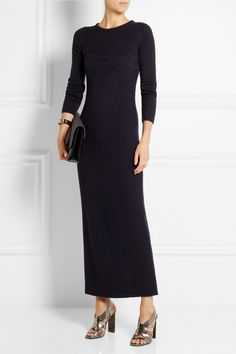 Maison Martin Margiela | Ribbed wool maxi dress | NET-A-PORTER.COM