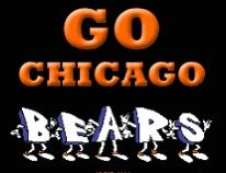 GO CHICAGO BEARS