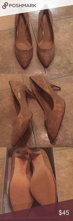 Antonio Melani sand gold heels new with box Antonio Melani sand gold heels new with box 📦 ANTONIO MELANI Shoes Heels
