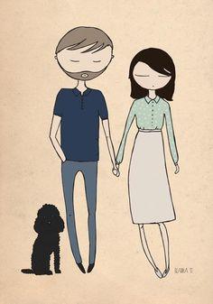 Parejas imagen Ilustración 11. Love her outfit