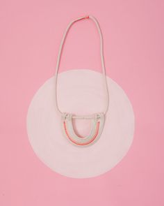 rope necklace, pink via | Ban.do