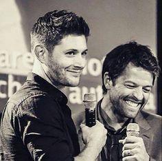 Jensen Ackles and Misha Collins