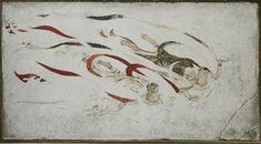 Apsara Horyuji1 - 法隆寺金堂壁画 - Wikipedia