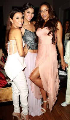Eva Longoria and the stars of Lifetime's Devious Maids at the show's Premiere Party