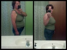 """Cheryl is doing fantastic on her 90 Skinny Fiber Day Challenge!!   She shared, """"30 Days Here is my pic, same clothes. I am down 13 pounds & 4 inches in the waist, 11 inches total. I quit drinking Pepsi. Drinking lots of water. I quit eating Flamin Hot Cheetos, I finally got over the addiction! I am more cheerful. I have more energy. I sleep really good & am adding in exercise. I will let you know how I'm doing at 60 days, with another pic!""""  JOIN THE 90 CHALLENGE HERE…"""