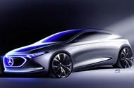 Mercedes EQ A electric hatchback previewed ahead of Frankfurt  The Mercedes EQ A has been previewed in a new image  New concept will influence a future entry-level model for Merc's electric EQ range; due to go on sale in 2020 priced around 35000  Mercedes-Benz has previewed the design of its upcoming EQ A electric compact hatchback that will be revealed at theFrankfurt motor showthis month.  The new car is set to become the German car makers second dedicated electric model after the EQ C…