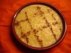Arroz doce branco(riz au lait recette Portugaise)