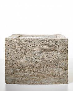 Faux-Bois Planter Mold | Martha Stewart