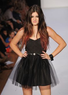 Reality TV Stars Kylie Jenner, Sammi 'Sweetheart' Giancola To Hit New York Fashion Week: Kylie Jenner walks the runway at the Abbey Dawn by Avril Lavigne Spring 2012 fashion show during Style360 on September 12, 2011 in New York City. (Photo by Slaven Vlasic/Getty Images)
