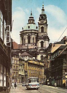 Mala Strana, Prague by Zd. Beautiful Streets, Beautiful Places To Visit, Prague Spring, Prague Photos, Prague Czech Republic, World Cities, Bratislava, Kirchen, Travel Inspiration