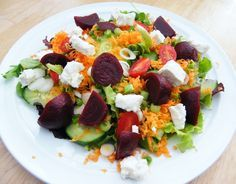 Fridge Salad  5:2 diet = 230 calories per serving