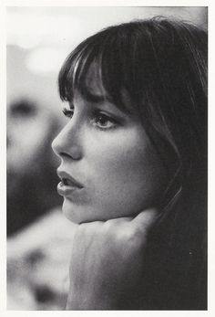 Jane Birkin. http://www.lisaeldridge.com/video/26437/alexa-chung-makeup-tutorial-starring-alexa-chung/ #makeup