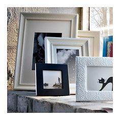 SÖNDRUM Marco, blanco, 13x18 cm - IKEA Ikea Photo Frames, Picture Frames, Marco Ikea, Black And White Frames, White White, Picture Holders, Neutral, Affordable Furniture, Photo Displays
