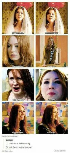 "Amy Pond and her Raggedy Man....""Oh look Satan made a photoset"""