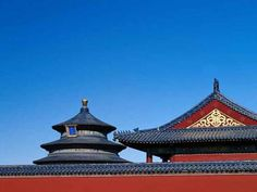 Chinese pagoda roof details