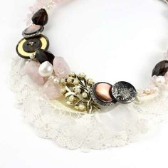 Little Glass Clementine Designs the Perfect Beachside Accessories #necklace #jewelry trendhunter.com