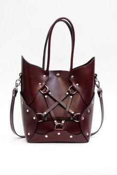Pentagram Handbag - Oxblood
