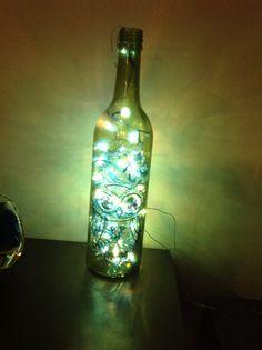A Diwali light idea.                      Recycling :)