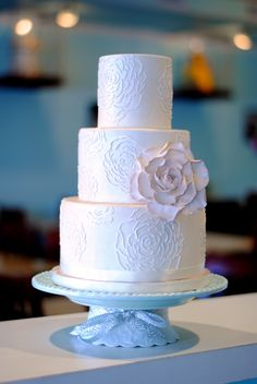 This beautiful wedding cake has beautiful hand piped roses all over it! Cupcake Cakes, Cupcakes, Fondant Wedding Cakes, Hand Pipes, Beautiful Wedding Cakes, Beautiful Hands, Amazing Cakes, Cake Ideas, Cake Toppers