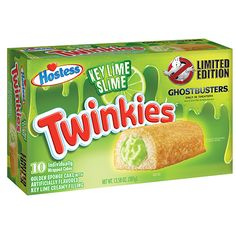 Limited Edition Ghostbusters Key Lime Slime Twinkies - BestProducts.com