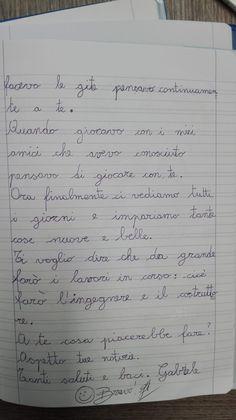 Classe Terza-Italiano-la Lettera- Settembre - Maestra Anita Sheet Music, Bullet Journal, Math Equations, 3, Music Score, Music Notes