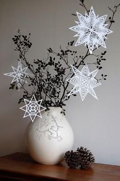 Paper snowflake by barbis