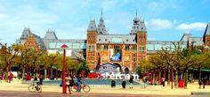Amsterdam: Museum Plein and the Rjksmuseum