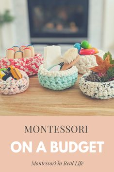 Montessori at Home on a Budget — Montessori in Real Life Montessori Toddler Rooms, Diy Montessori Toys, Montessori Bedroom, Montessori Practical Life, Montessori Materials, Montessori Theory, Montessori Education, Baby Education, Learning Games For Kids