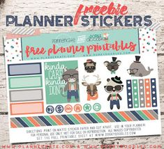 I bought a Happy planner this year and purchasing all the stickers and accessories can be expensive so here are 15 sites where you can find. Free Planner, Printable Planner, Planner Stickers, Printable Stickers, Planner Ideas, Planner Diy, Planner Layout, Planner Inserts, Diy Stickers