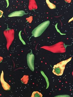 Excited to share the latest addition to my #etsy shop: Chili Peppers Galore (4) Cloth Dinner Napkins https://etsy.me/2r1bgkb #housewares #black #cincodemayo #red #cotton #square #peppers #mexican #fiesta