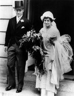 SOCIETY: Marriage of note - Joseph Patrick Kennedy & Rose Fitzgerald, Oct. 7, 1914, Boston