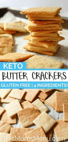 Easy Keto Crackers You'd Be Crazy To Miss! Easy Keto Crackers You'd Be Crazy To Miss! Looking for the perfect low carb crackers on the ketogenic diet? Try these keto crackers with butter, cheese, coconut or almond flour that are so easy to make. Low Carb Bread, Keto Bread, Low Carb Keto, Healthy Recipes, Ketogenic Recipes, Low Carb Recipes, Ketogenic Diet, Snacks Recipes, Recipies