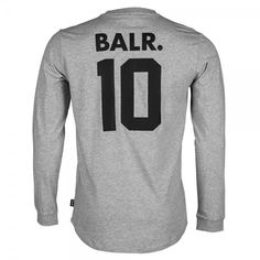 Long Sleeved Shirt BALR. 10 Grey - BALR.