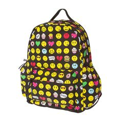 Emoji and Junk Food Backpack | Claire's