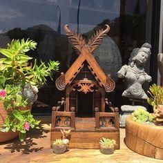 Do you have a #spirithouse - shrine to the protective spirit of your home? .  #JalanJalanImports #OwlFalls #TopangaCanyon :: remember to #shoplocal :: . ∞ #happy #love #malibu #la #namaste #losangeles #meditation #meditate #waterfall #buylocal #create #zen #om #jalanjalan #handcarved #statue #designerdiscount #design #style #interiordesign #nature #beauty #buddha #imports #bali ∞