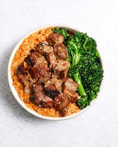 Quick Vegetarian Meals, Healthy Low Carb Recipes, Healthy Meal Prep, Healthy Life, Bulgur Recipes, Beef Recipes, Korean Recipes, Quick Kimchi, Tzatziki Recipes