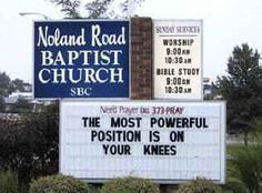 15 Hilarious Church Signs (funny church sign sayings, funny church . Church Sign Sayings, Funny Church Signs, Funny Road Signs, Church Humor, Sign Quotes, Funny Quotes, Bible Quotes, Funny Sign Fails, Assemblies Of God