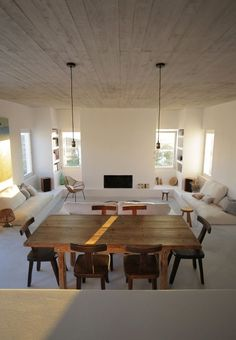 Maison Kamari in Paros by React Architects – Design., Maison Kamari in Paros by React Architects – Design. House Minimalist, Bedroom Minimalist, Home Interior, Interior Architecture, Interior Design, Villa Design, House Design, Appartement Design, Modern Kitchen Design
