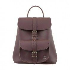 Grafea Matilda Burgundy Leather Backpack http://www.styledit.com/shop/grafea-matilda-burgundy-leather-backpack/