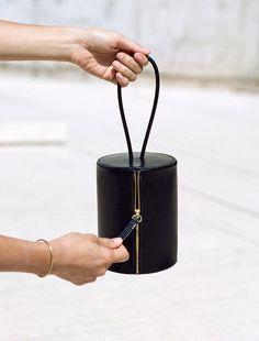 Cylinder Bag - chic minimal handbag // Building Block