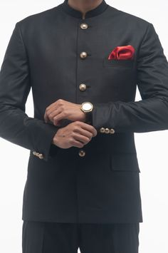 bandhgala suit - Google Search