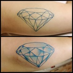 Diamante tatuagem tattoo diamond