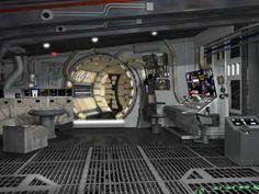 millenium falcon interior images