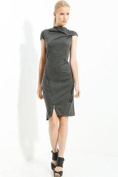 Love this dress!   Helmut Lang Sonar Dress