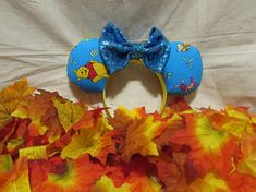 Items similar to Winnie the Pooh inspired Mouse Ears / Headband on Etsy Winnie The Pooh Ears, Disney Ears, Mouse Ears, Etsy Shop, Inspired, Unique Jewelry, Handmade Gifts, Check, Kid Craft Gifts