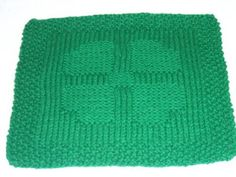 The Left Side of Crochet: Reversible 4 Corner Heart Dishcloth