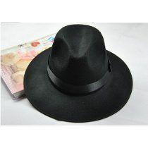 Sombrero Ala Ancha Vintage Hipster Funky Excelente Calidad Sombreros De Ala  Ancha 7002189c0b4