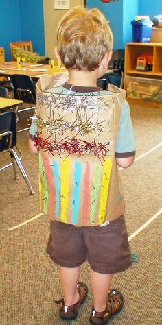 Joseph coat of many colors craft